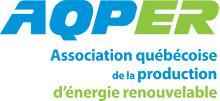 Logo AQPER - Association québécoise de la production d'énergie renouvelable